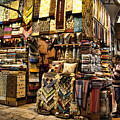 The Grand Bazaar In Istanbul Turkey by David Smith