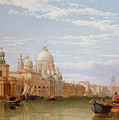 The Grand Canal - Venice by George Clarkson Stanfield