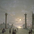 The Grand Canal From Piazza San Marco by Henry Pether