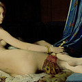 The Grande Odalisque by Ingres