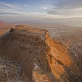 The Great Refuge Of Masada Looms by Michael Melford