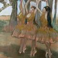The Greek Dance by Edgar Degas