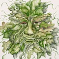 The Green Man by Angelina Whittaker Cook
