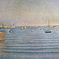 The Harbour At Portrieux by Paul Signac