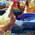The Henhouse Watering Hole by Kathy Braud