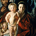 The Holy Family With St. John The Baptist by Jacob Jordaens