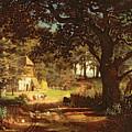 The House In The Woods by Albert Bierstadt