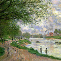 The Island Of La Grande Jatte by Claude Monet