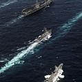 The John C. Stennis Carrier Strike by Stocktrek Images