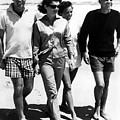 The Kennedys, Robert, Jackie, Ethel by Everett