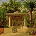 The Khabanija Fountain In Cairo by Grigory Tchernezov