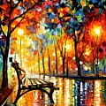 The Loneliness Of Autumn by Leonid Afremov
