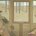 The Long Journey by Frederick Cayley Robinson