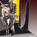 The Man In Black by David Fossaceca