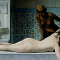 The Massage by Edouard Debat-Ponsan
