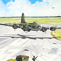 The Memphis Belle by Marc Stewart
