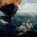 The Mermaid's Rock by Edward Matthew Hale