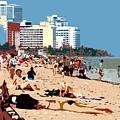 The Miami Beach by David Lee Thompson