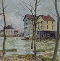 The Mills At Moret Sur Loing by Alfred Sisley