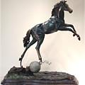 The Moonhorse Bronze by Dawn Senior-Trask