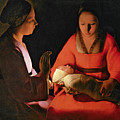 The New Born Child by Georges de la Tour