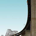 The Old Carquinez Bridge . 7d8832 by Wingsdomain Art and Photography