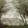 The Pond by Jean Baptiste Corot