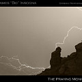 The Praying Monk Camelback Mountain by James BO  Insogna