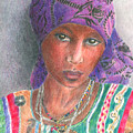 The Purple Scarf  by Arline Wagner