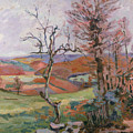 The Puy Barion At Crozant by Jean Baptiste Armand Guillaumin