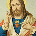 The Sacred Heart by French School