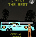 The Scream World Tour Football Tour Bus Simply The Best by Eric Kempson