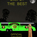 The Scream World Tour Tennis Tour Bus Simply The Best by Eric Kempson