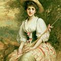 The Shepherdess by Sir Samuel Luke Fildes
