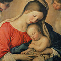 The Sleeping Christ Child by Il Sassoferrato
