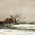 The Snow by Charles Francois Daubigny