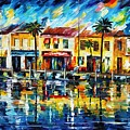 The Spirit Of Miami  by Leonid Afremov