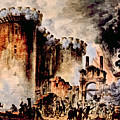 The Storming Of The Bastille, Paris by Everett