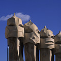 The Strangely Shaped Rooftop Chimneys by Taylor S. Kennedy