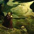 The Tempest by  Albert Pinkham Ryder