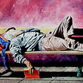 The Traveler 1 - El Viajero 1 by Rezzan Erguvan-Onal