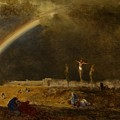 The Triumph At Calvary by George Inness