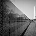 The Vietnam Veterans Memorial Washington Dc by Ilker Goksen
