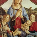 The Virgin And Child With Two Angels by Andrea del Verrocchio