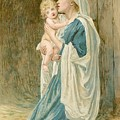 The Virgin Mary With Jesus by John Lawson