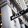 The Wall Street Street Sign by Justin Guariglia