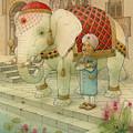 The White Elephant 05 by Kestutis Kasparavicius