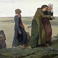 The Widow by Evariste Vital Luminais