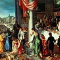 The Winter Feast by Hendrik van the Elder Balen