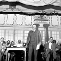 Theodore Roosevelt Speaking At National by Everett